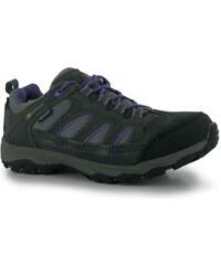Karrimor Mount Low dětské Walking Shoes Grey/Purple
