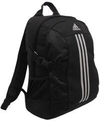 adidas 3 Stripe Power II Backpack Black/MetSilv