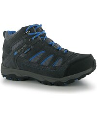 Karrimor Mount Mid dětské Walking Boots Charcoal/Blue