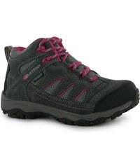 Karrimor Mount Mid dětské Walking Boots Grey/Pink