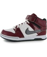 Nike Mogan Mid Junior Skate Shoes Red/White