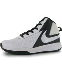 Nike Team Hustle D7 Basketball Shoes dětské White/Black
