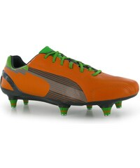 Kopačky Puma evoSpeed 1 SG Orange/Charcoal