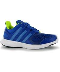 adidas HyperFast dětské Trainers Blue/SuperBlue