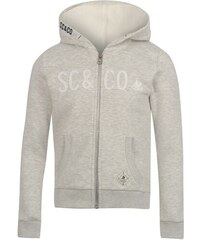 SoulCal Sparkling Hoody Girls Ash Marl
