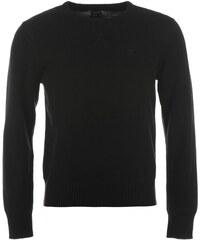 Svetr Firetrap Galaxde Knit Sweater pánský Black