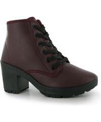 Fabric Bey dámské Boots Burgundy