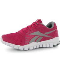 Reebok RealFlex Advance Ladies Running Shoes Pink/Grey