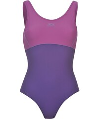Dámské plavky Slazenger Swim Purple