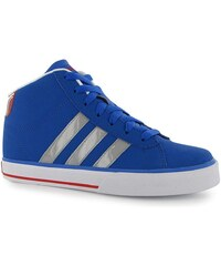 adidas Daily Mid NB Junior Trainers Sat/LtOnix/Red
