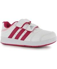 adidas Trainers 5 CF Girls Training Shoe Wht/VividBerry
