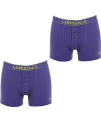 Boxerky Lonsdale 2 Pack Purple