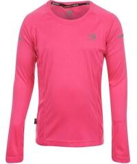 Triko Karrimor Long Sleeved Running Top Girls Pink