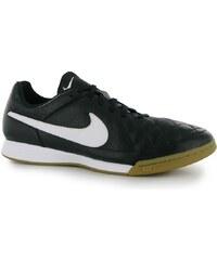 Fotbalové sálovky Nike Tiempo Genio IC Black/White