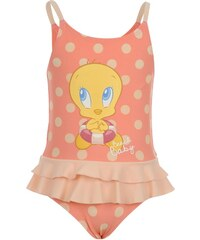 Warner Brothers Looney Tunes Tweety Swimsuit Baby Girl Pink