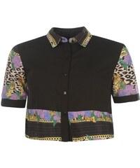 Košile dámská Miso All Over Print Boxy Black Animal