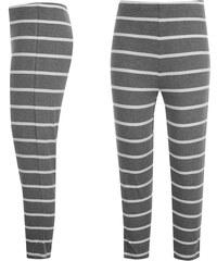 Golddigga All Over Print Capri Pants dámské Charcoal Stripe 07c7f9fbe4