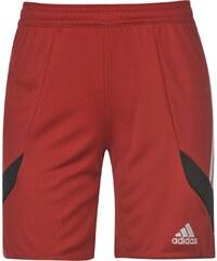 Kraťasy dětské adidas 3 Stripe Nova Red/White