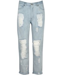 Rifle dámské Uncut Distressed Blue