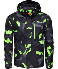 Zimní bunda pánská NORDBLANC Hills - NBWJM4505 GRA