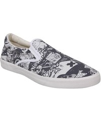 Bucketfeet Slip On Casual Shoes White/Black