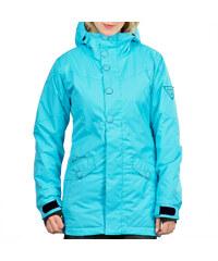Zimní bunda dámská FUNSTORM KRISTI 13 tyrkysová