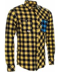 Košile pánská WOOX Flannel Rider Yellow