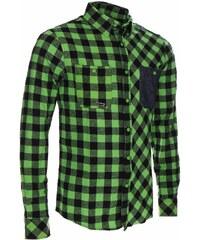 Košile pánská WOOX Flannel Rider Green