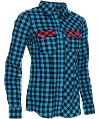 Košile dámská WOOX Flannel Ladies´ Blue