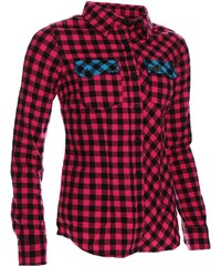 Košile dámská WOOX Flannel Ladies´ Magenta