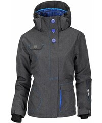 Zimní bunda dámská WOOX Fine Ladies' Jacket Black