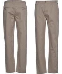 Kangol Chino Trousers Light Grey
