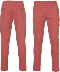 Kangol Chino Trousers Washed Red