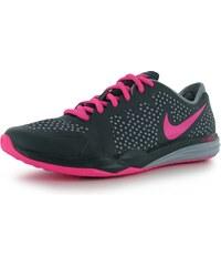 boty Nike Dual Fusion Print dámské Charcoal/Pink