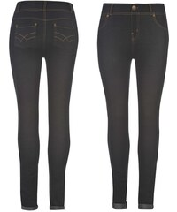 Golddigga Denim Jeggings dámské Dark Indigo