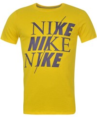 Triko pánské Nike QTT Split Yellow