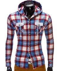 Košile pánská Ombre K148 červená