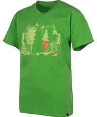 Triko dětské HANNAH Doris Kids Classic green