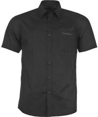 Košile pánská Pierre Cardin Short Sleeve Plain Black