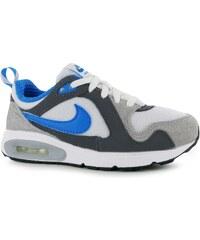 Nike Air Max Trax Childrens Trainers White/Blue/Grey