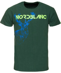 Triko pánské NORDBLANC Deer - NBSMT5096 ZLH