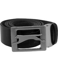Pásek pánský Slazenger Leather Black
