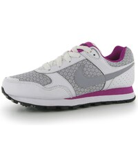 Nike MD Runner dětské Girls Trainers White/Grey