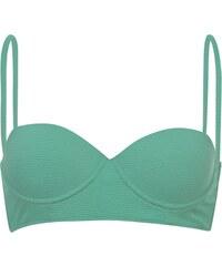Golddigga Long Bikini Top dámské Pastel Mint