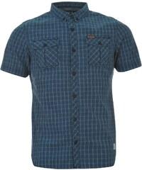 Košile pánská Firetrap Blackseal Indigo Indigo Blue
