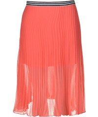 Rock and Rags Pleat Skirt Coral