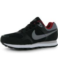 Nike MD Runner dětské Boys Trainers Black/Grey