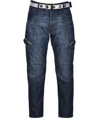 Airwalk Belted Cargo Jeans pánské Mid Wash