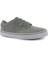 Vans Atwood MW dětské Girls Trainers Mid Grey/White
