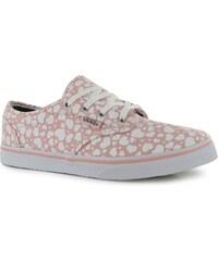 Vans Atwood Low Childrens Trainers Rose/Blue Heart